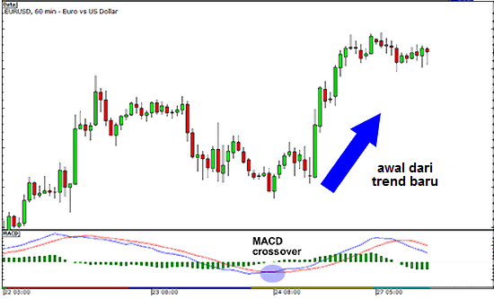 Moving Average Convergence Divergence (MACD) example
