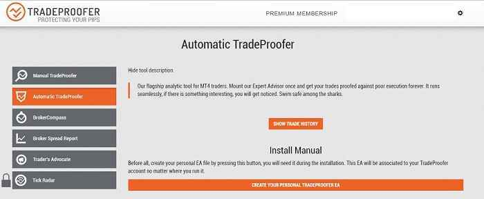 automatic tradeproofer