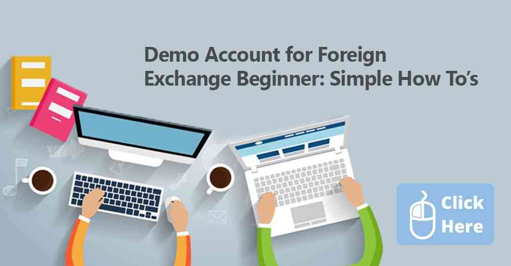 demo account for foreign exchange or currency trading