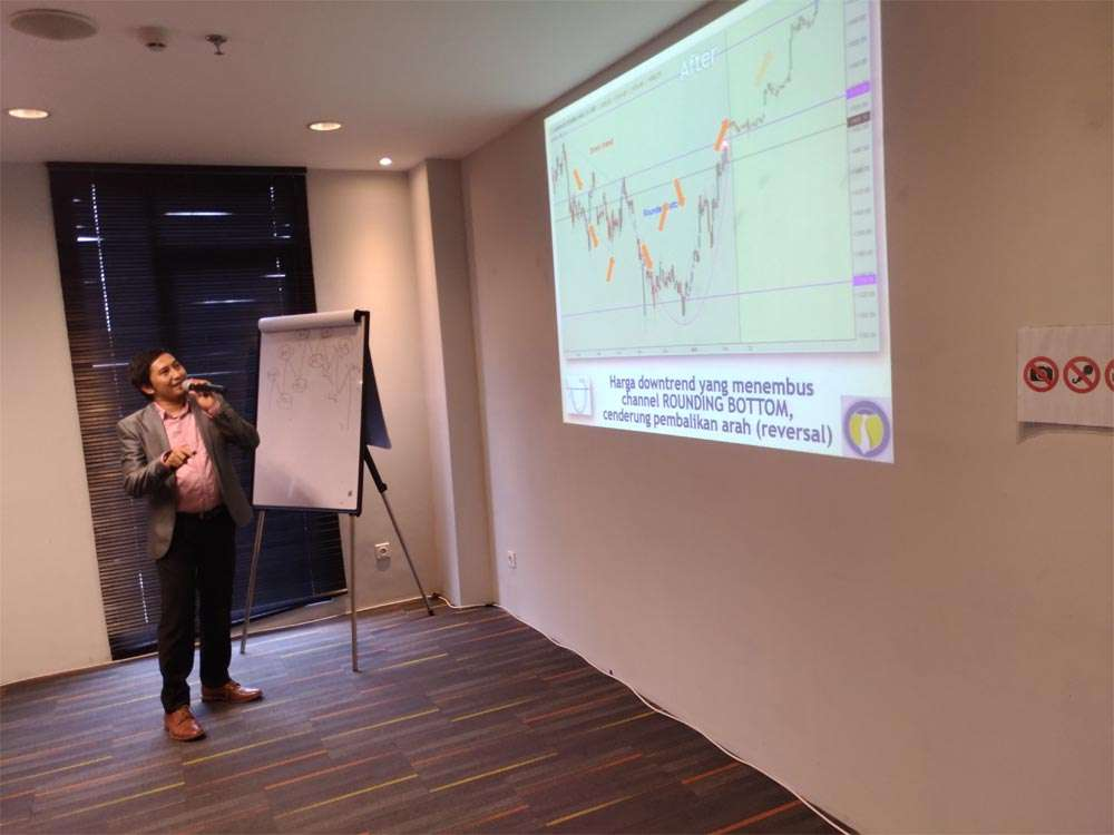 workshop seputarforex, bedah chart