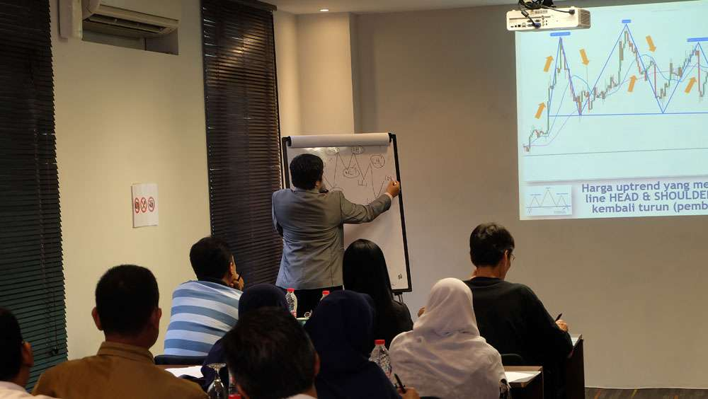 workshop seputarforex, trainer