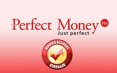 Verifikasi akun Perfect Money