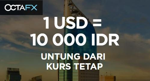 OctaFX Sediakan Fixed Rate