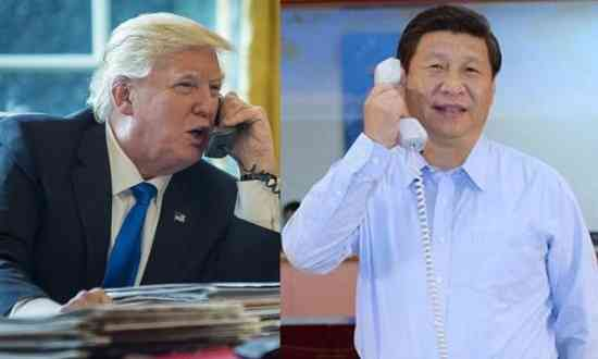 Trump-Xi-call