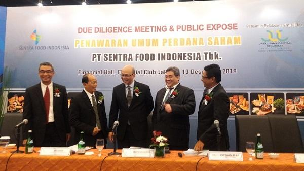IPO Sentra Food Indonesia