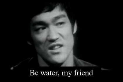Trading Ala Bruce Lee (1) - Water Philosophy